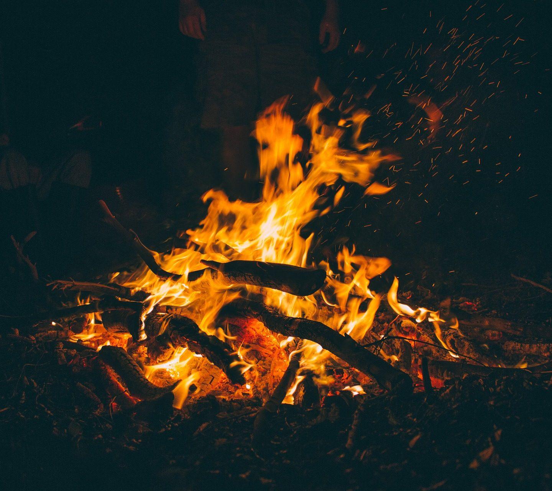 Ognisko, Grillowanie